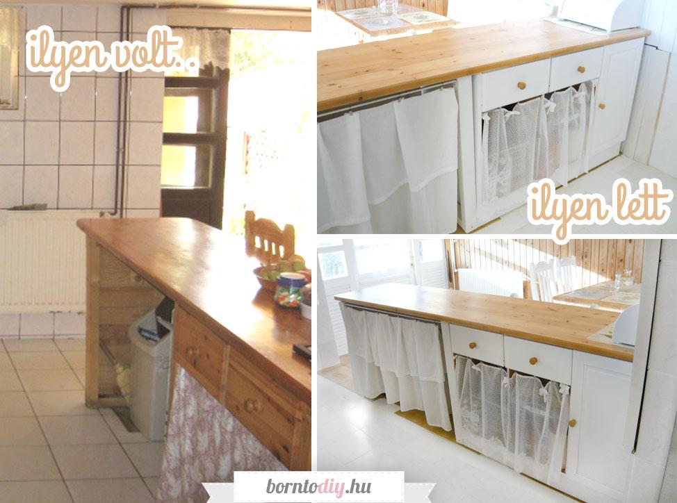 A konyhaszigetünk megújulása vintage hangulatban ( bútorfestés / bútorfelújítás )  - Alacsony költségvetésű DIY konyhafelújítás 2. rész
