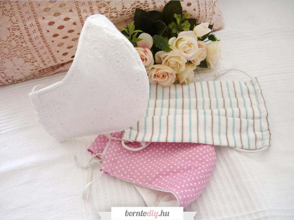 Varrjunk textil maszkot ! Kétféle textil szájmaszk filterzsebbel ( ingyenes szabásmintával )