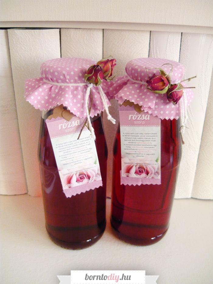 Mennyei rózsaszörp - rózsaszörp készítés lépésről - lépésre (rózsaszörp recept)