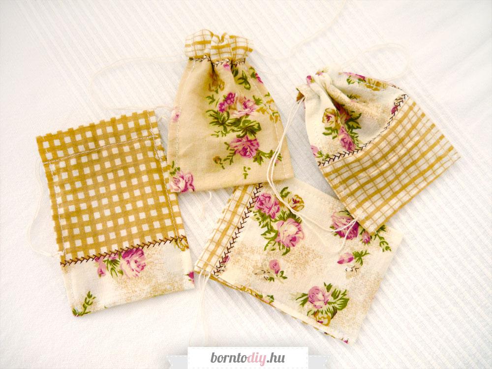 Varrjunk textil ajándéktasakot ! ( Textil zsák varrása gyorsan és egyszerűen - varrás kezdőknek )